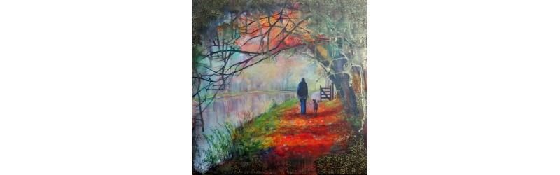 Autumn Walk Jan Vallance