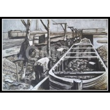 """Bassano's Basins - Haden Hill Colliery - Old Hill"" by Louise Moore"