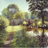 'Clayhouse Bridge'  by Michael Salt