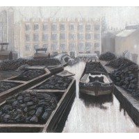 'Coal Wharf Birmingham' by Louise Moore