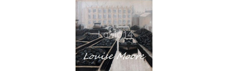 Coal wharf by Louise Moore