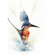 'Kingfisher Rising'  by Lesley Pearson